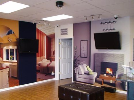 WM069 - Custom Wall Mural for Retail