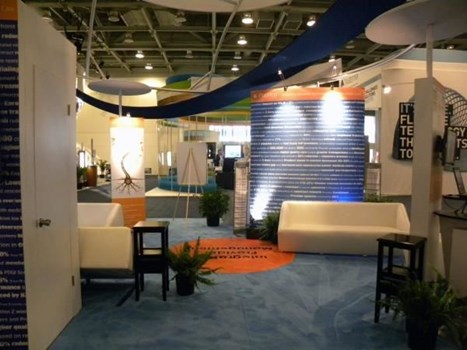 MOD027 - Custom Trade Show Exhibit for Manufacturing